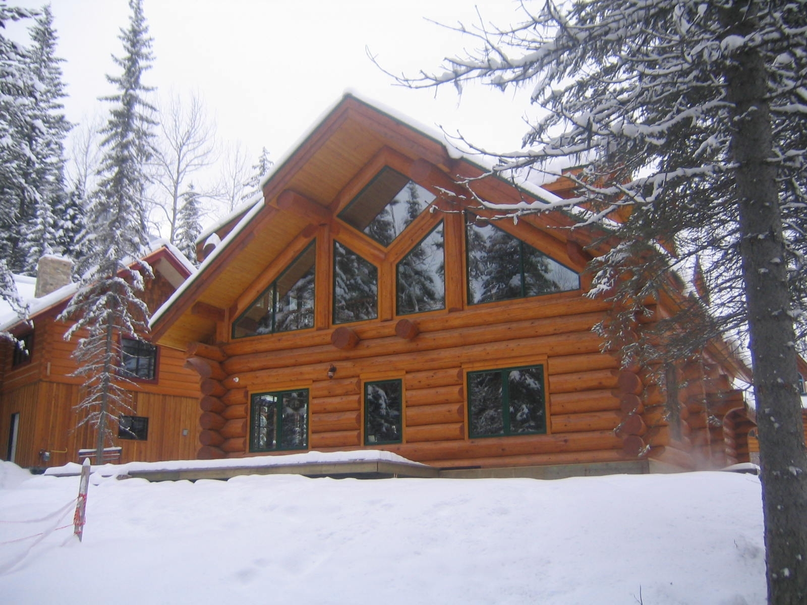 The Golden Ski Cabin