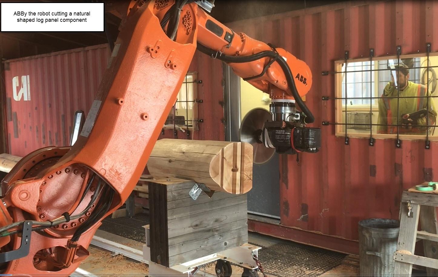 Robot Assisted Log Building