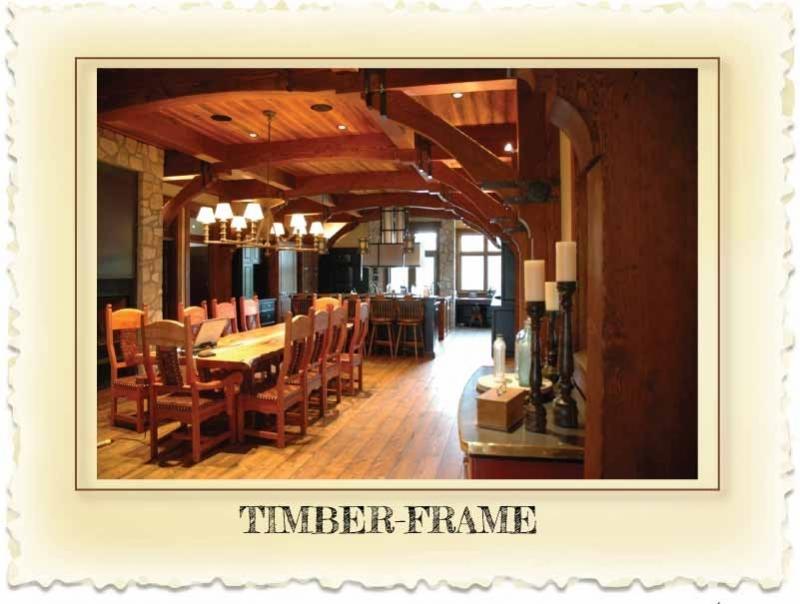 Timber Frame Homes at Nicola LogWorks