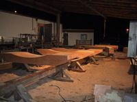 Gang cutting for Whistler Timber Frame
