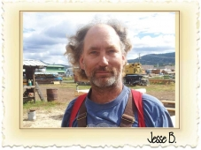 Jesse has been with Nicola LogWorks since 1992 and has been manageing the production site and leading our hand-crafted log building work since 1993
