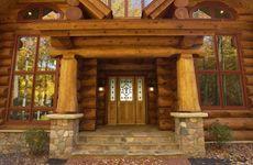 Scribed Log Home in Minnesota