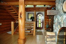 Scribed Log Home in Washington State - Nicola LogWorks