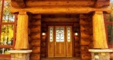 Entry - Scribed Log Home