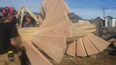 Log Spiral Stairs