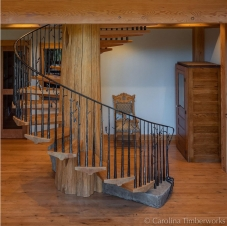 Spiral Stairs for Caronlina Timber works
