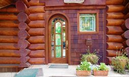 Entry - Scribed Log Home