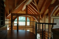 timber frame roof
