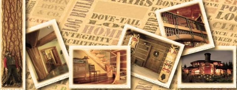 a multi-discipline log home building company