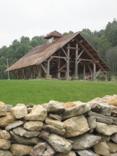 A unique development that we really enjoyed supplying the log work for in North Carolina.