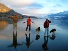 Playing Hookie at Nicola Lake